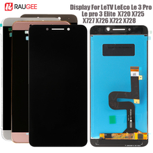 Tela para LeTV Le 3 Pro X720, tela de toque LCD para Elite X720 X727 X722