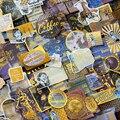 60 шт. билет карта планета перо Кофе жизнь золочение Бумага Стикеры украшения Diy Ablum дневник в стиле Скрапбукинг этикетка Стикеры