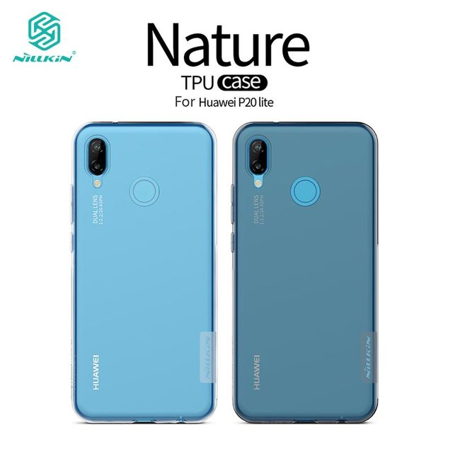 buy popular c5971 419c7 US $4.99 |Huawei P20 Lite Case Huawei P20 Lite Cover Nillkin Nature Series  Transparent Clear Soft TPU Case for Nova 3E-in Fitted Cases from Cellphones  ...