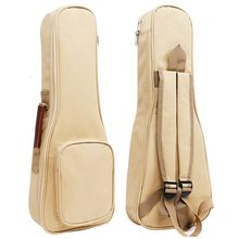 Waterproof Ukulele Bag Case Backpack Ukelele Guitar Accessories Beige 26/27 inch – 75*28cm