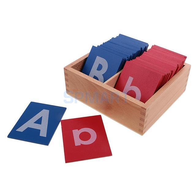 kids montessori materials alphabets box a z a z letter for composing