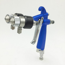 SAT1201 hvlp airbrush paint guns spray on nano chrome pneumatic paint gun auto sprayer dual nozzle недорого