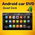 Quad Core Емкостный Android 6.0 3 Г Wi-Fi Автомобильный DVD Gps-навигация 2DIN Автомобилей Стерео