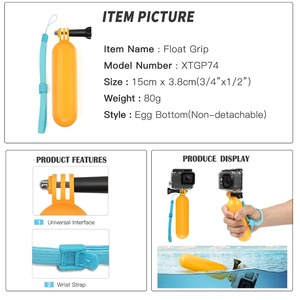Image 3 - SHOOT Actionอุปกรณ์เสริมกล้องขาตั้งกล้องMonopodสำหรับGoPro Hero 9 8 7 5สีดำXiaomi Yi 4K Sjcam Sj8 Eken H9r