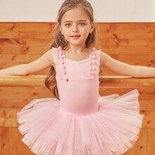 ballet dress girls dance costumes tutu professional tank leotard ballerina kids dancewear