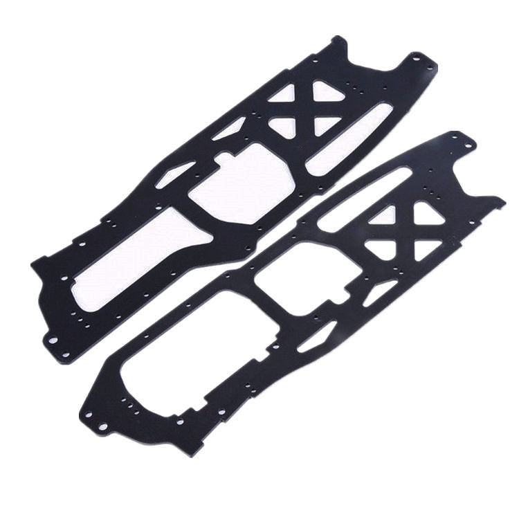 Right Left Side Board Hard Anodizing for 1/8 HPI Racing Savage XL FLUX TORLAND MONSTER BRUSHLESS TRUCK RC Car Parts цена