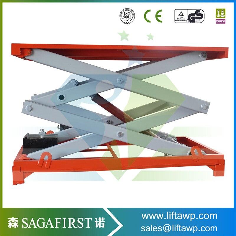 Electric Platform Lifting Double Scissor Lift Table