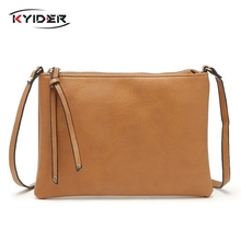 KYIDER 2019 Casual Crossbody Bags for Women PU Leather Messenger Female Flap Handbag Shoulder Bag Clutch Purse