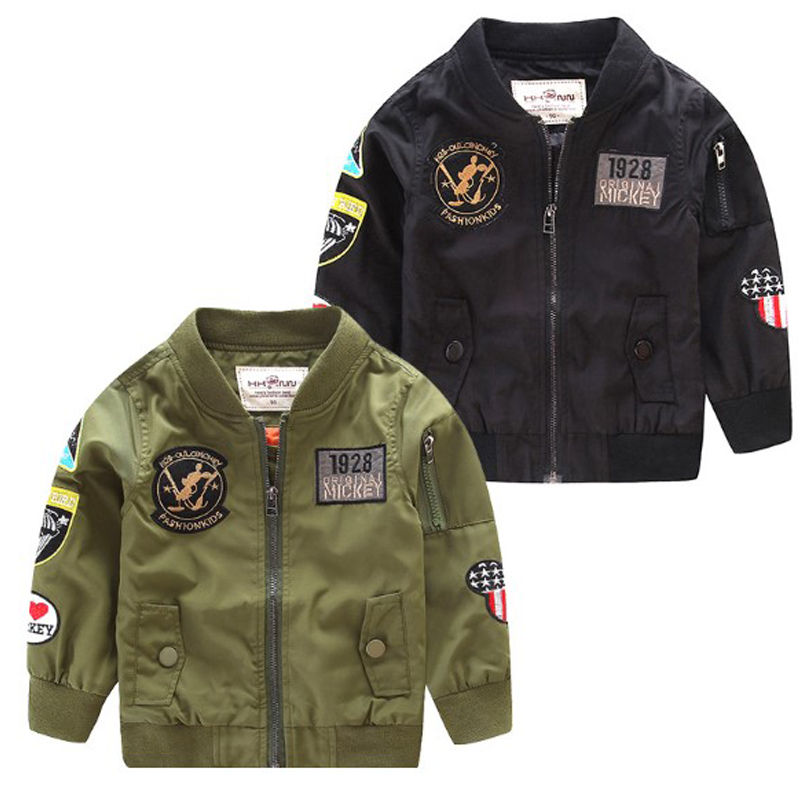 Children Jacket For Boys Coat Kids Clothes Spring Autumn 2021 Fashion Children's Winter Jackets Boy Clothing Casual Outerwear 2