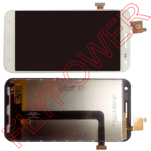 ФОТО 100% New For ZOPO 3X ZP999 9530 Touch Screen digitizer + LCD Display assembly White by free shipping