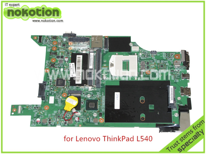 NOKOTION Laptop motherboard For lenovo thinkpad L540 FRU 04X2034 LPD-1 MB 12290-1M 48.4LH03.01M  HM86 Intel HD5000 ddr3 nokotion fru 04w6824 for lenovo thinkpad t530 laptop motherboard nvs 5400m graphics qm77 ddr3