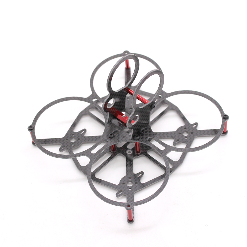 90mm Butterfly Brushless Micro Carbon Fiber FPV Racing Quadcopter Drone 1.5mm Arm Tiny Whoop Blade Inductrix rc aircraft arf kingkong 90gt 90 brushless micro fpv racing quadcopter drone f3 flight controll 800tvl vtx 3a esc tiny whoop