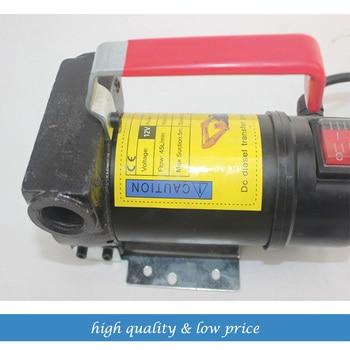 free shipping DC12V 35LPM Portable Electric Pump Kerosene Diesel oil pump Self-Priming Pump
