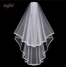Voiles De Mariage Simple Tulle Blanc Ivo ...