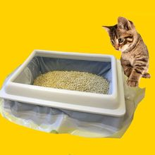 Cat Litter Bag Sand Bags Hygiene Elastic Kitten Pet Supplies Professional Practical Garbage S/M/L