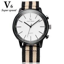 Amantes V6 relógios Vestido ocasiões formais dos homens de negócios relógios de quartzo senhoras requintado relógio marca casual moda estilo clássico