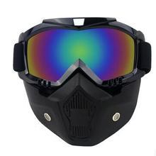 New Men s Women s Windproof Anti fog Motorcycle Motocross Racing Goggles Helmet Sunglasses Face Mask