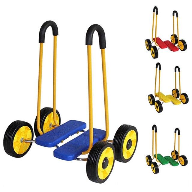 Enfants Balance tapis de course intégration sensorielle formation voiture Balance vélo enfants tapis roulant Fitness jouet enfant marcheur avec roues