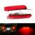 Para mitsubishi lancer y evolución 2011-2016 mitsubishi outlander parachoques reflector led luz trasera de cola luz de freno de la lámpara de niebla luz
