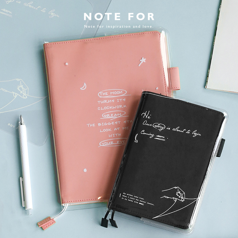 NOTE FOR HOBONICHI PVC Cover Ver.4 Transprant  For Hobonichi Journal A5 A6