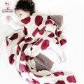 KAMIIMI Детское одеяло Wrap Мягкая Фланель детские одеяла новорожденных 3 цвет печати Пеленание Infantil Постельные Принадлежности Дети Подарок 100*80 СМ A360