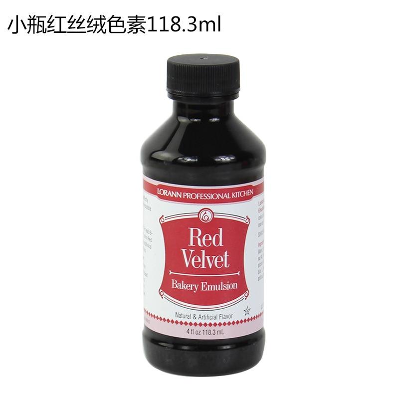 US $14.35 8% OFF|Crimson, Lorann Red Velvet red velvet cake color flavoring  ingredients,food coloring baking cream fondant gel cake decorating-in ...