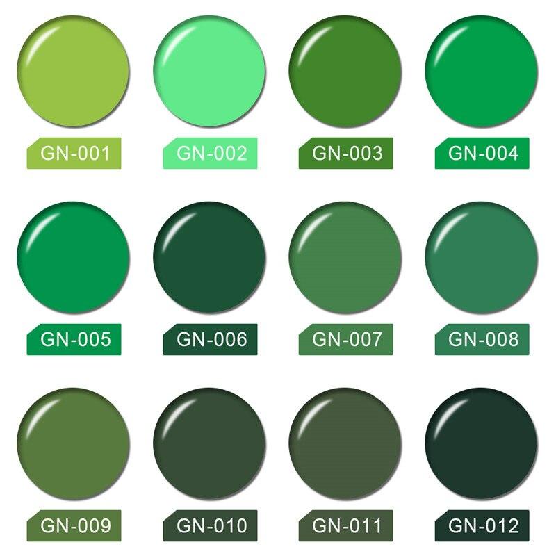 NACIDO PRETTY Desnuda Verde Serie UV Gel Esmalte de Uñas Colores Del ...