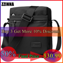 ZZINNA Unisex Summer Bohemian Style Beach Bag Men Single Male Shoulder Flap Short Trip Travel Sumka Water Repellent Crossbody BG