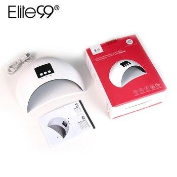 Elite99 36 W/24 W UV Led Lampe Nagel Trockner Für Alle Arten Gel 12 Leds UV Lampe für nagel Gel Maschine Aushärtung 30 s/60 s/90 s Timer USB