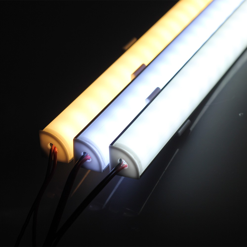 2PCS 50CM LED Bar Light 5730 5630 Aluminum LED Rigid Strip