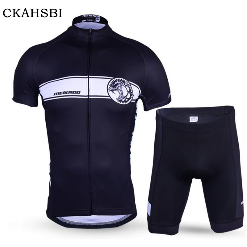 CKAHSBI Men Cycling Jerseys Sets Ropa Ciclismo Pro Short Sleeves Bike Team Suits 2017 Hot Sale Cycling Clothing MTB Bicycle Sets 2017 new pro team cycling jerseys bike clothing ropa ciclismo breathable short sleeve 100