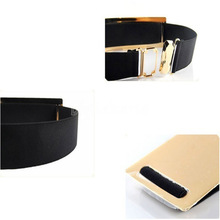 Mirror Metallic Waist Belt