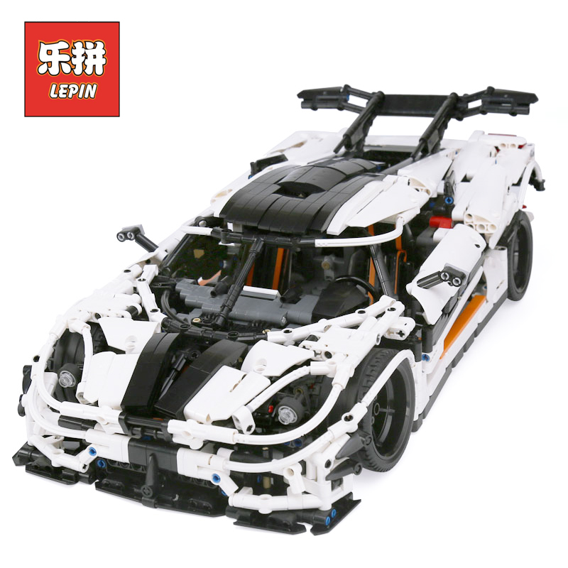 Lepin Technic Series The MOC-4789 Changing Racing Car Set DIY Model Building Kits Blocks Bricks Children Toys Gift lepin 23002 lepin 21003 series city car beetle model building blocks blue technic children lepins toys gift clone 10252