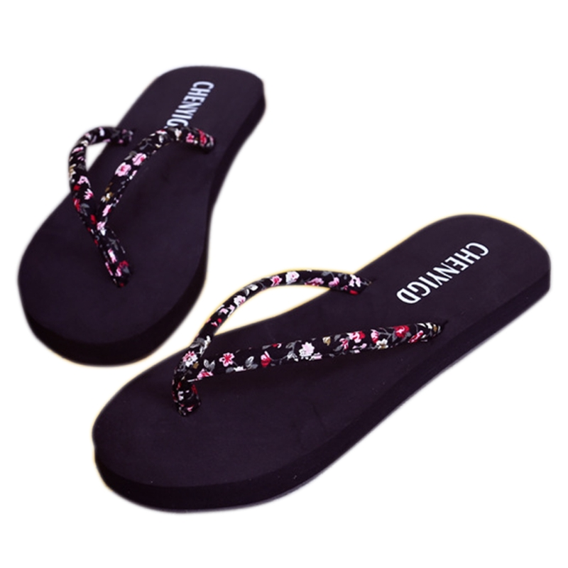 Flat Sandals Flip-Flops Women's Slippers Beach Summer Female New