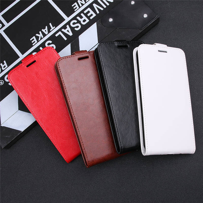 Vertical Flip Wallet Cover For Xiaomi Mi 5x Case Open UP Down Leather Case for Xiaomi Mi A1 5X MIA1 Cover Phone Bag Fundas in Flip Cases from Cellphones Telecommunications