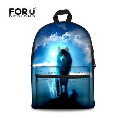 FORUDESIGNS/женские рюкзаки, крутой цветной Galaxy Star рюкзак для холстов для девочек-подростков, повседневный дорожный Школьный Рюкзак Для Ноутбука - Цвет: H058J