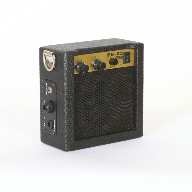 Zonael PG-5 5W Excellent Electric Guitar Amp Amplifier Speaker Volume Tone Control clip on belt portable mini electric guitar amp amplifier speaker volume tone control 3w or 5w