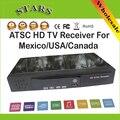 Novo HD PVR Digital MPG4 H.264 Receptor ATSC Sintonizador de TV 1080 P Caixa de TV Chinesa suporte USB/HDMI para méxico/EUA/Canadá, Frete Grátis