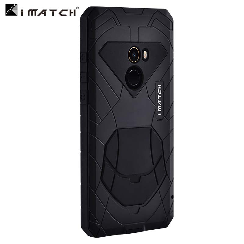 Luxury Outdoor IMATCH Original For Xiaomi MI Mix 2 Sports Army Tactical Shockproof Waterproof Metal & Silicone Phone Case JS0548Luxury Outdoor IMATCH Original For Xiaomi MI Mix 2 Sports Army Tactical Shockproof Waterproof Metal & Silicone Phone Case JS0548