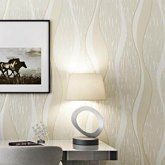 Wohnzimmer Sofa Weiß Grau Streifen Wand Papier 3D Design Moderne Wohnkultur  Papier Wand Geometrische Gestreiften Tapetenbahn R509