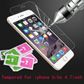 for iPhone 6s Tempered Glass for iPhone 6 apple Explosion-proof Anti-scratch 0.25D Screen Protector Film for iPhone 6 4.7 inch