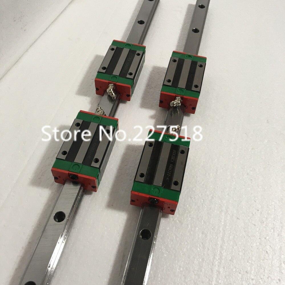 Conjuntos 6 HGR15 1075/1400/305 + 1 RM1610 1045 milímetros + 2 RM1610 1358 milímetros + 1 RM1605 275 milímetros + 4 DSG16H + 4 BK12BF12 + 4 acoplador