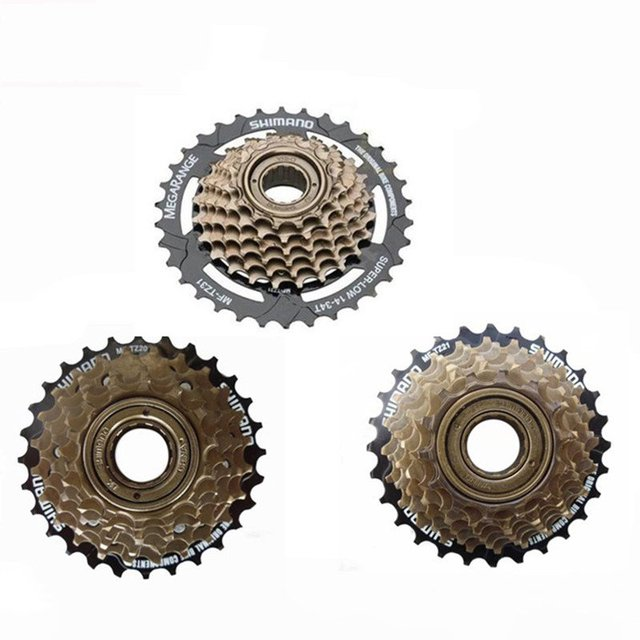 6c56fcb1009 Shimano Tourney MF-TZ20 6/7-Speed 18/21s Multiple Freewheel Cassette 14-28  Teeth HG20-7 TZ500-7 ZH37-7