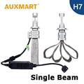 Auxmart H7 Car Headlight Kit 8000lm 72w/set CSP LED Chips Light Fog Lamp 12V 24V For TOYOTA HYUNDAI AUDI BMW SKODA