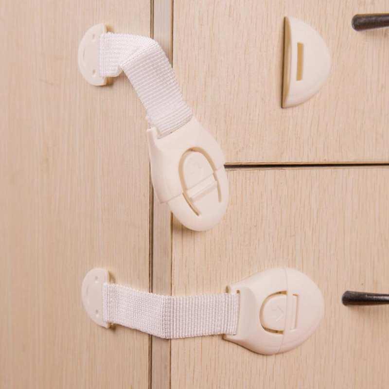 10PcsLot Drawer Door Cabinet Cupboard Toilet Safety Locks