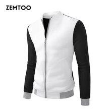 Fashion College Baseball Jacket Men Jacket Slim Fit Brand Veste Homme Casual Men Jackets Coat Varsity Jacket Plus US Size ZE0289