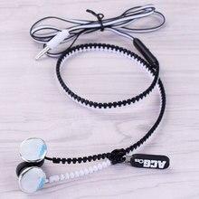 Tokyo Ghoul Kaneki Ken Zipper Earphone Wired Stereo In-ear Earbuds Earphones Game Headset for Iphone Samsung Phone