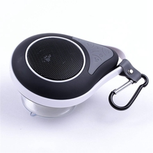 Portable Mini Speaker Wireless Bluetooth Speaker Sucker Hook Sport For Bathroom outdoor For iPhone 6s Xiaomi redmi Mi sound box
