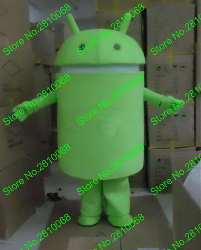QIANYIDUOO Can be washed with water EVA Material Android Robot Mascot Costumes walking cartoon Apparel Birthday party 454