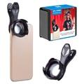Профессиональный объектив APEXEL для камеры телефона  HD 70 мм портретный объектив 2 5x телеобъектив для всех смартфонов iPhone SamSung Xiaomi 70 мм